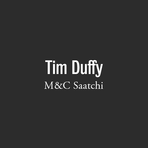 M&C Saatchi Tim Duffy
