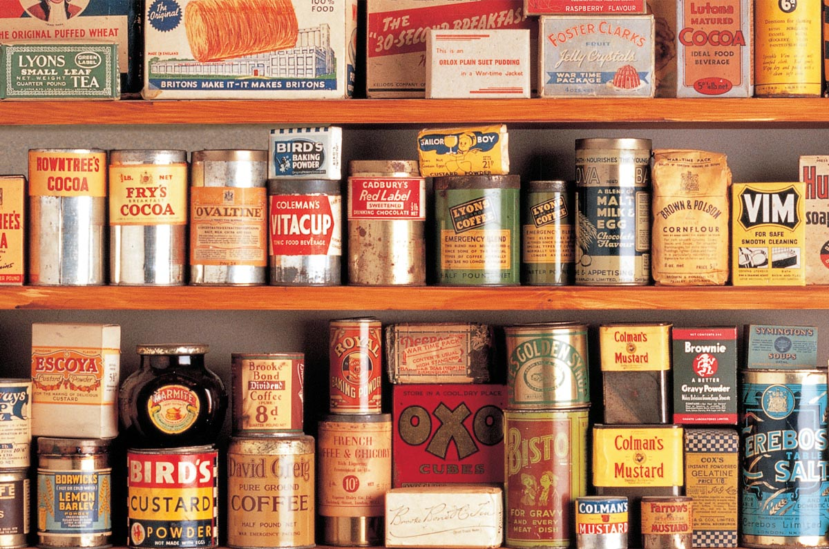 1940s collection, museum of brands