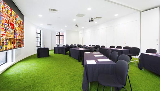conference space, museum of brands