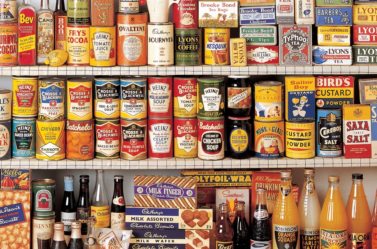1950s collection, museum of brands